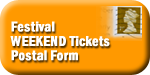Festival Weekend Postal ticket form